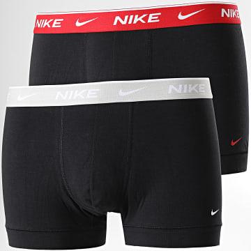 Nike - Lot De 2 Boxers Everyday Cotton Stretch KE1085 Noir