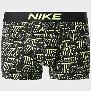 Nike - Boxer Essential Micro KE1098 Noir Jaune Fluo