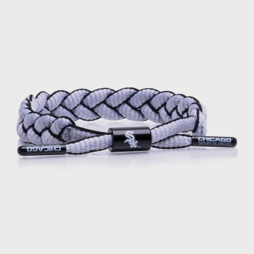 Rastaclat - Bracelet MLB Chicago White Sox Gris