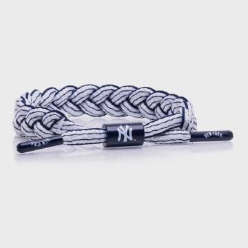 Rastaclat - Bracelet MLB New York Yankees Blanc