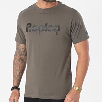 Replay - Tee Shirt M3481-P23174 Gris Anthracite