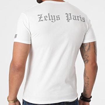 Zelys Paris - Tee Shirt Réfléchissant Yacht Blanc