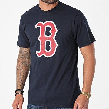 '47 Brand - Tee Shirt Boston Red Sox BB002TEMIME54 Bleu Marine