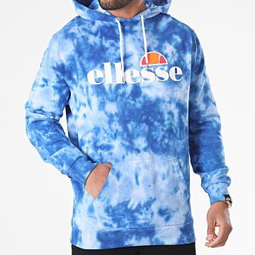 Ellesse - Sweat Capuche Tie Dye Gottero SHI11365 Bleu