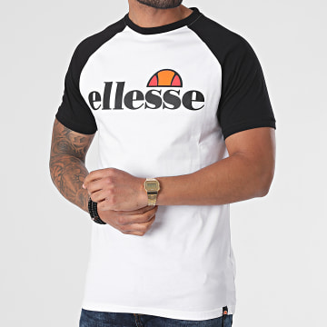 Ellesse - Tee Shirt Corp SHI12467 Blanc Noir