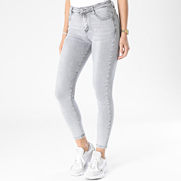 Girls Outfit - Jean Skinny Femme A127 Gris