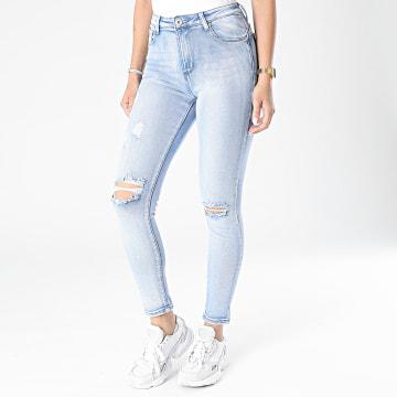 Girls Outfit - Jean Skinny Femme B891 Bleu Denim