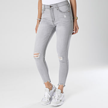 Girls Outfit - Jean Skinny Femme MG-006 Gris