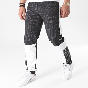 La Piraterie - Pantalon Jogging Face Noir