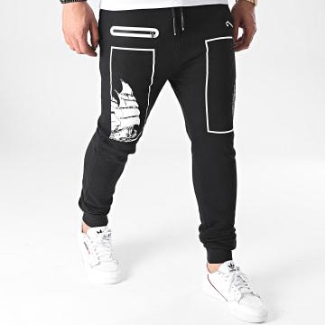 La Piraterie - Pantalon Jogging Square Noir