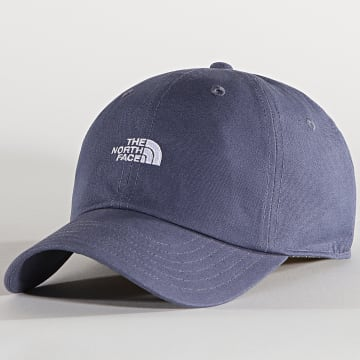 The North Face - Casquette Washed Norm Bleu