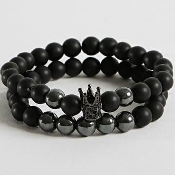 California Jewels - Bracelet BL0756 Noir