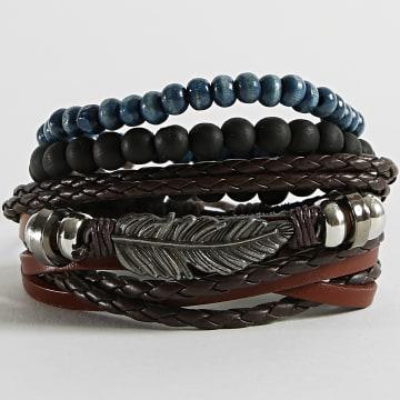 California Jewels - Bracelet TZ369 Marron