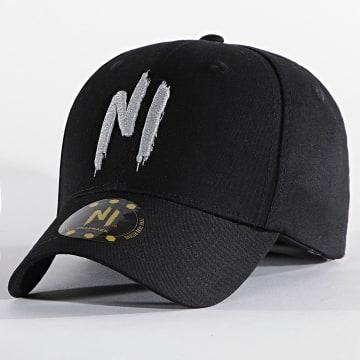 NI by Ninho - Casquette Logo Noir Réfléchissant