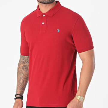 US Polo ASSN - Polo Manches Courtes Institutional Bordeaux