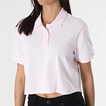 Adidas Originals - Polo Manches Courtes Crop Femme H56470 Rose
