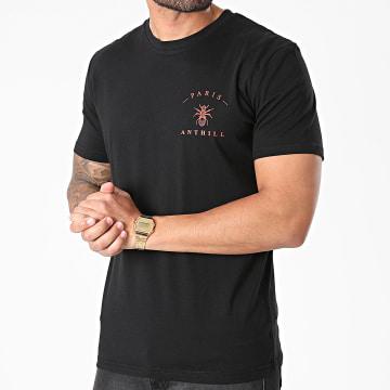 Anthill - Tee Shirt Chest Logo Noir Rouge