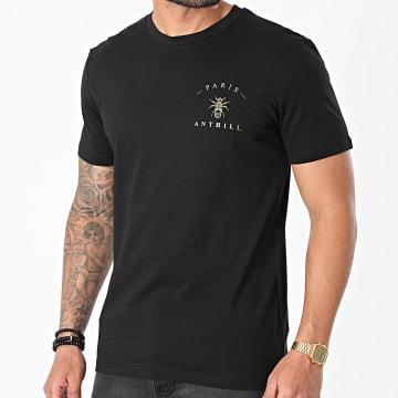 Anthill - Tee Shirt Chest Logo Noir Doré