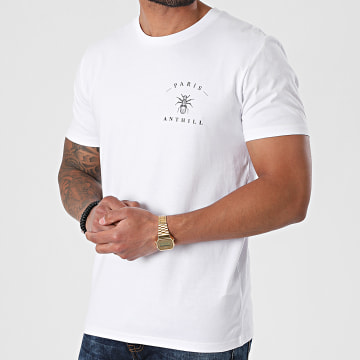 Anthill - Tee Shirt Chest Logo Blanc