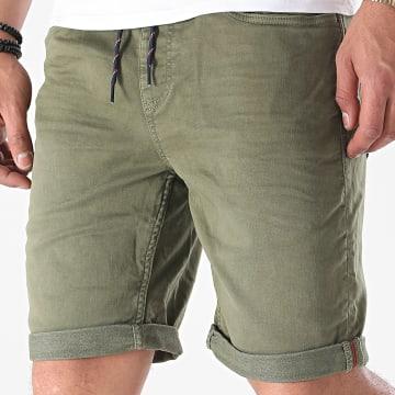 Blend - Short Jogg Jean Twister 20711950 Vert Kaki