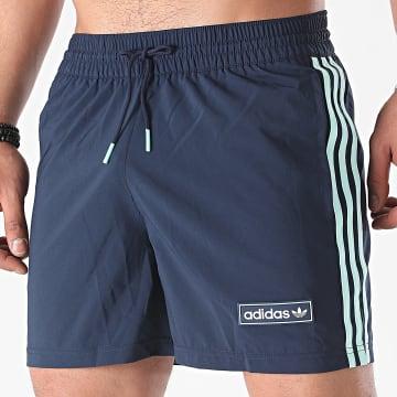 Adidas Originals - Short De Bain HB1824 Bleu Marine
