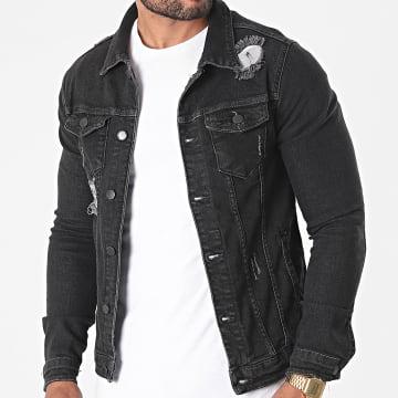 Black Industry - Veste Jean 5716 Noir