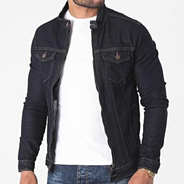 Black Industry - Veste Jean 3315 Bleu Brut