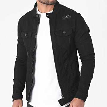 Black Industry - Veste Jean 5915 Noir