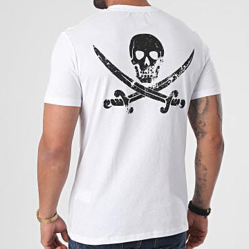 Black Industry - Tee Shirt T-134 Blanc