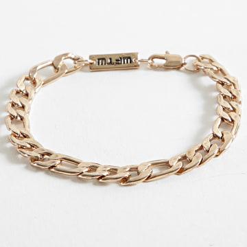 Icon Brand - Bracelet WW020 Doré