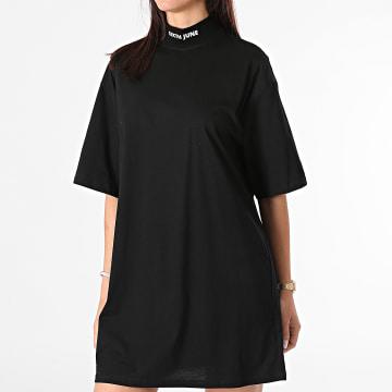 Sixth June - Robe Tee Shirt Femme W32913VTS Noir