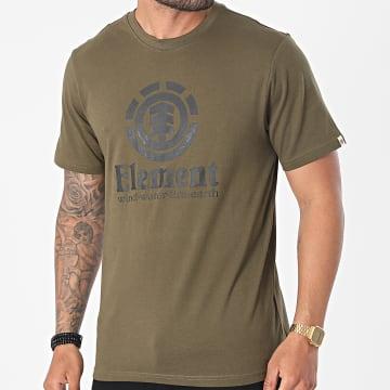 Element - Tee Shirt Vertical Vert Kaki