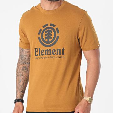 Element - Tee Shirt Vertical Camel