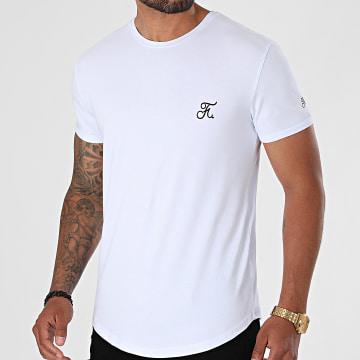Final Club - Tee Shirt Oversize Premium Avec Broderie 602 Blanc