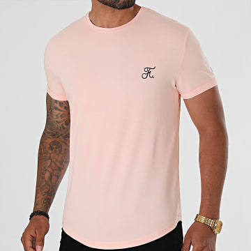 Final Club - Tee Shirt Oversize Premium Avec Broderie 606 Rose Pastel