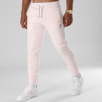 Final Club - Pantalon Jogging Premium Avec Broderie 654 Rose Pastel
