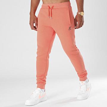 Final Club - Pantalon Jogging Premium Avec Broderie 656 Orange Pastel