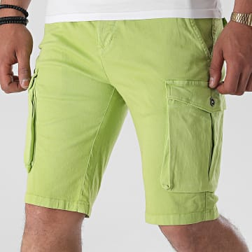Paname Brothers - Short Cargo Bill Vert Anis