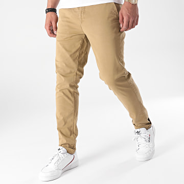 Paname Brothers - Pantalon Chino Tall Beige