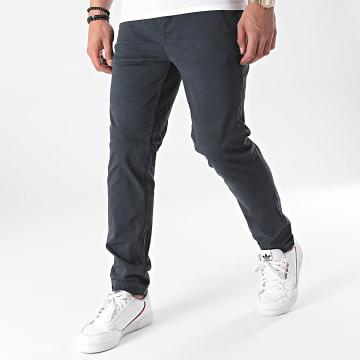 Paname Brothers - Pantalon Chino Tall Bleu Marine