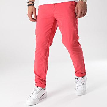 Paname Brothers - Pantalon Chino Tall Rouge