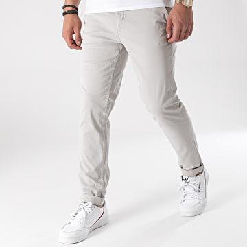 Paname Brothers - Pantalon Chino Tall Gris