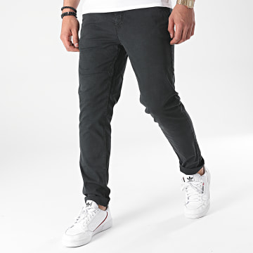 Paname Brothers - Pantalon Chino Tall Noir