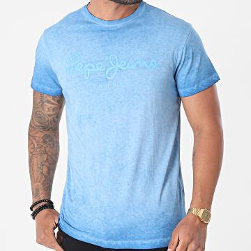 Pepe Jeans - Tee Shirt West Sir Bleu Clair