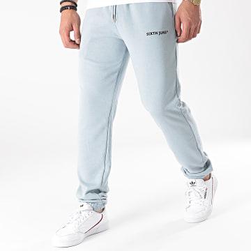 Sixth June - Pantalon Jogging M22206VPA Bleu Clair