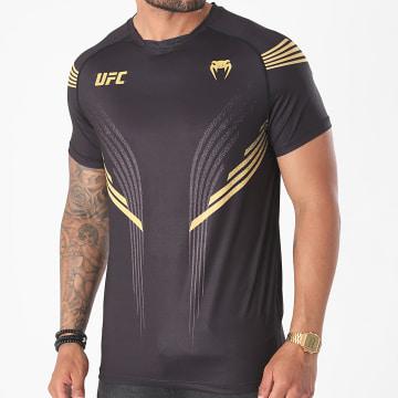 Venum - Tee Shirt UFC Pro Line 00059 Noir Doré