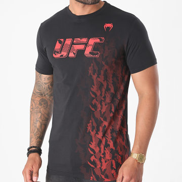 Venum - Tee Shirt UFC Authentic Fight Week 00052 Noir Rouge
