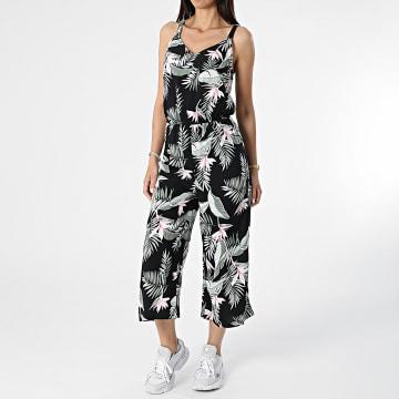 Vero Moda - Combinaison Femme Floral Simply Easy Noir