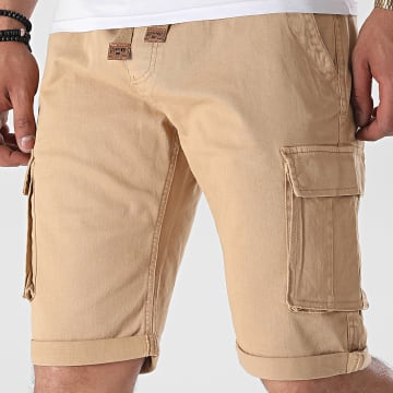 Geographical Norway - Short Cargo Plaire Beige