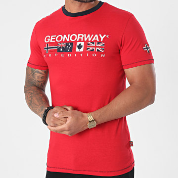 Geographical Norway - Tee Shirt Jinter Rouge
